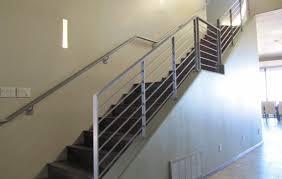 Sleek Steel Stair Railings