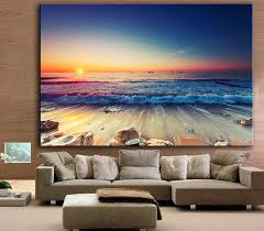 Large Living Room Paintings Online Get Cheap Large Beach Paintings Aliexpresscom Alibaba Group