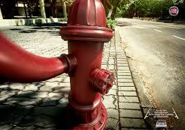 print ad leo burnett. Fiat Print Ad - Selfies Hydrant Leo Burnett