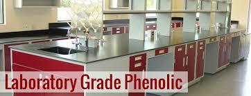 laboratory grade phenolic resin worktops