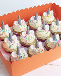 Unicorn Cupcakes Claygate Surrey Afternoon Crumbs