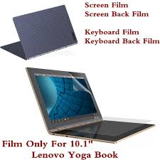 whole protective film for lenovo yoga book 10 1 inch tablet pc screen film keyboard cover film