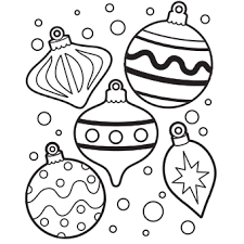 Small Picture Ornaments Coloring Page Free Christmas Recipes Coloring Pages