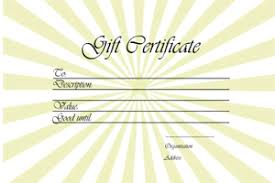 Coupon Outline Template Gift Voucher Templates Free Printable Gift Vouchers