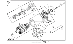 John deere parts diagrams john deere 440g generator pc2673 starter
