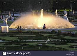 Beleuchtung Der Gärten Von Herrenhausen, Deutschland, Niedersachsen,  Hannover