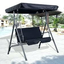 3 person outdoor swing with canopy replacement swing canopy furniture outdoor design of wooden patio glider