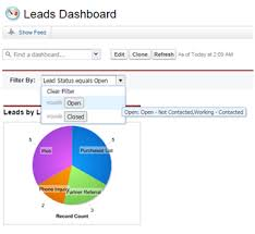 Visualize Your Data With Dashboards And Charts Unit Salesforce