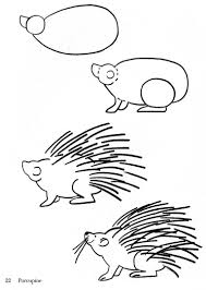 Small Picture porcupine drawing Google Search Crafts Hedgehogs