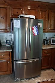 french door refrigerator in kitchen. Detail Image Kitchenaid Refrigerator Design Ideas For Modern Kitchen Decoration With Wooden Cabinet French Door In N