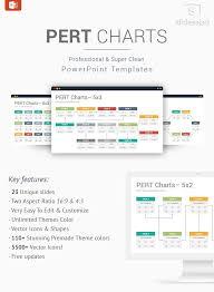 Pert Charts Powerpoint Template Designs Powerpoint