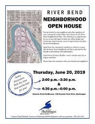 River Bend Neighborhood Open House