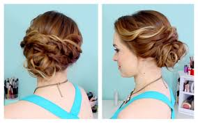 Elegant Prom Hair Style quick side updo for prom or weddings d youtube 5361 by wearticles.com