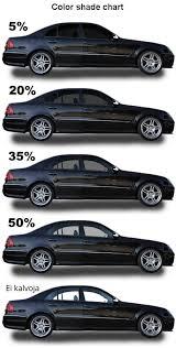 Car Tint Color Chart Bedowntowndaytona Com
