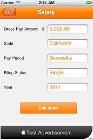 Pay Stub Calculator California Gross To Net Income Calculator Texas