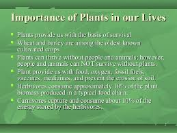 Importance Of Plant Pleasing Plant Science Review