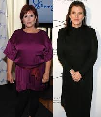 carrie fisher weight loss. Modren Fisher These Celebrities Have Lost A Significant Amount Of Weight Some  Gained Lost And Then Again Most Kept The Weight Off For Good And Carrie Fisher Weight Loss E