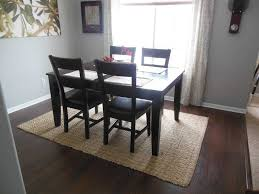 Rugs Under Kitchen Table Ideas Trends Including Attractive Put For A