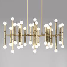 interior design ceiling chandelier fresh meurice rectangle nickel chandelier modern chandeliers