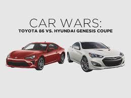 Car Wars: Toyota 86 vs. Hyundai Genesis Coupe | Toyota Motors ...