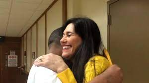 Freed inmate surprised by former classmate turned judge - ABC30 Fresno