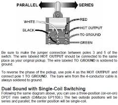 need help!!! series split parallel with dpdt (on on on) 3way Dimarzio Wiring Diagram Hss dimarzio humbucker 4 conductor wiring jpg dimarzio wiring diagram humbucker
