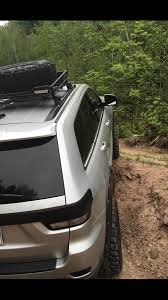 off road unlimited roof racks jeep grand cherokee wk2 kumho tires blacked out off road roof rack