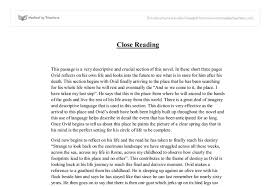 imaginary life close reading gcse english marked by teachers com document image preview