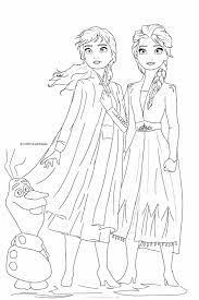 66222 rochie frumoasa regina a zapezii daca povestile cu printese si zane, sunt preferatele copil Frozen 2 Coloring Pages Elsa And Anna Coloring