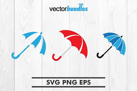 Almost files can be used for commercial. Umbrella Clip Art Svg 371167 Icons Design Bundles Clip Art Card Design Icon Design