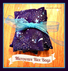 easy no sew and sew rice microwave heating bags