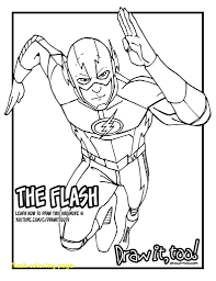 Flash Superhero Coloring Pages 52 With Flash Superhero Coloring