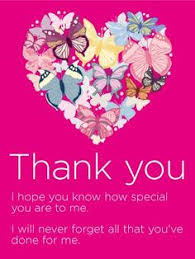 Thank You Beautiful Quotes Best Of To A KindHearted Person Thank You Card This Thank You Card Is