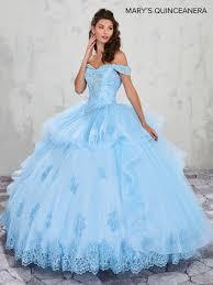 Light Blue Quince Dress Lareina Quinceanera Dresses Style Mq2002 In Light Blue