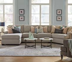 bedford sectional with cuddler