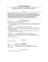 Sample Resume For Students Still In College | Experience Resumes within Resume  Examples For Students Still