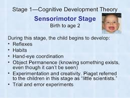 piaget s cognitive development theory  6 stage 1 cognitive development theory