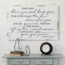 writing on walls decor beautiful the lord bless you entryway sign rustic sign wall