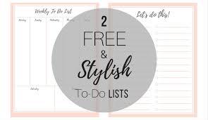 List To Do Free Stylish To Do List Plus A Bonus Birkley Lane Interiors
