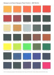 Harley Davidson 2019 Color Chart 62 Systematic Matte Car Paint Color Chart