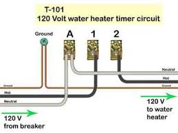 how to wire t101 timer t 101 timer 120volts