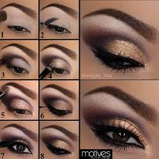 eye makeup how to put on eye makeup 13 charming golden eye makeup looks for