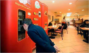 Vending Machine Pizza Maker Magnificent In Italy A Vending Machine Even Makes The Pizza The New York Times