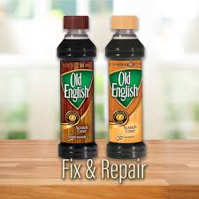 Old English Scratch Cover For Light Woods 8oz Bottle Wood
