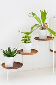diy wood plant stand view in gallery planter stand plate