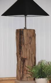 Wandlamp Root Polder Teak Woonaccessoires Hout Staande Lampen
