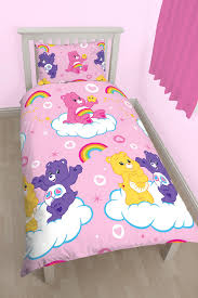 care bears share design single duvet cover pillowcase set