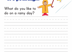 st grade writing stories worksheets printables com writing prompt rainy day