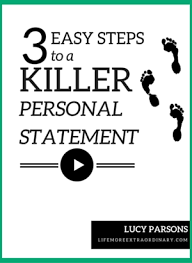 personal statement help 3 easy steps to a killer personal statement