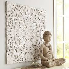 white carved wall decor carved wall